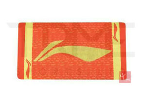 Li-Ning Badminton Sports Shower Towel - Orange/Yellow