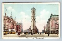 New York City NY, Times Square Hotel Theatre Vintage New York c1912 Postcard X67