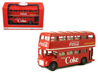 1960 Routemaster London Double Decker Bus Coca-Cola 1/60 Diecast
