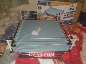WWE Mattel RAW Authentic Scale Ring Elite Basic Steps Box Great Condition