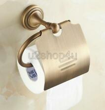 Antique Brass Wall Mounted Bathroom Toilet Tissue Paper Roll Holder Uba029