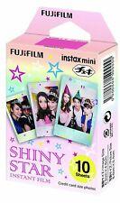 Fujifilm Shiny Star instant Film for Instax Mini (Pack of 10) Xmas gift kids fun