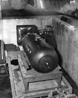 WW2 WWII Photo Little Boy Atomic Bomb in Loading Bay Hiroshima World War Two