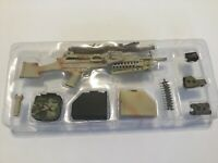 1/6 scale m249 SAW machine gun desert camo with accessories and moving parts