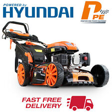 "ELECTRIC START Lawnmower 20"" / 51cm 4 in 1 173cc Powered by Hyundai Lawn Mower"
