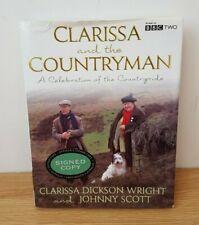 Clarissa and the Countryman SIGNED by Clarissa Dickson Wright & Johnny Scott