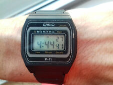 Casio VINTAGE(1984) F-11 MODULE 155 WATCH ULTRA RARE JAPAN R MONTRE COLLECTORS