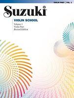Suzuki Violin School Violin Part Vol 1