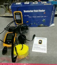 Venterior Vt-Ff001 Fish Finder Wired Sonar Sensor Lcd Screen for parts Only