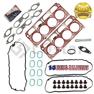 Engine Cylinder Head Gasket Set HS55332 For Cadillac Escalade GMC Sierra 1500