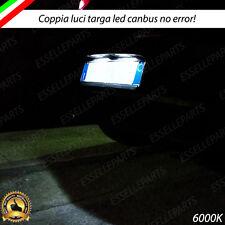 LUCI TARGA LED ALFA ROMEO GIULIETTA GRANDE PUNTO EVO BRAVO 500X 500L 6000K