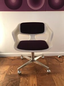 Vintage 60s 70s Space Age Panton Colombo Kartell Colani Office Chair IIL Canada