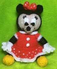 KNITTING PATTERN - Minnie Mouse inspired chocolate orange cover/ 16 cms toy