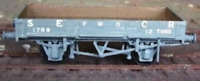 Cambrian C77 OO Gauge SECR/SR Dropside Ballast Wagon Kit