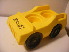 Vintage fisher price little Family play people voiture car TAXI