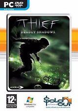 THIEF Deadly Shadows PC DVD ROM Action Packed Gioco per computer per i giocatori Età 12+