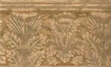 Wallpaper Border Large Faux Terracotta Acnthus Leaf Architectural Molding