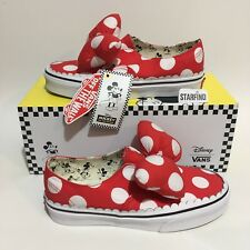 31a0ad1f70 Vans Disney Authentic Gore Minnie €™s Bow KIDS SIZE 3 Shoes SOLD OUT