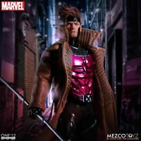 Mezco 1/12 Scale Marvel Mutant Gambit Collectible Action Figure Model Toys
