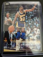 1990 Magic Johnson Wasatch ALL-STAR #4 of 24 Los Angeles Lakers Insert