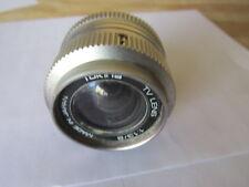 Vintage Tokina TV Camera Lens C-Mount 1:1.3/8
