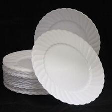 Art de la table de fête assiettes blanches pour la maison toutes occasions