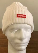 SUPREME OVERDYED BEANIE WHITE SS20 (IN HAND) BRAND NEW AUTHENTIC, OS  FAST SHIP