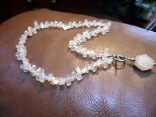 Silpada Rose Quartz chunky necklace - retired