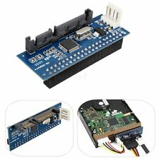 PATA/40-Pin IDE Female to SATA Serial 7+15Pin 22-Pin Male Adapter Card for 3.5""