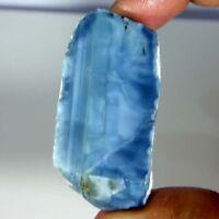 Best Offer 100% Natural Blue Opal Rough Slab Cabochon Loose Gemstone For You