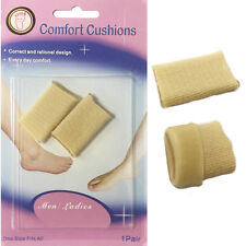 Soft Toe Gel Pads Foot Comfort Pad Shoe Bite Heel Footcare Overlapping Toe Nails