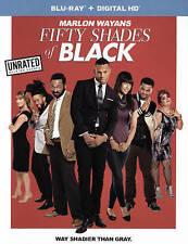 NEW NO SEAL GENUINE USA BLU RAY HDUV FIFTY SHADES OF BLACK FREE  1ST CLS S&H