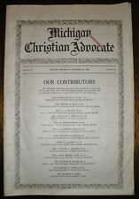Michigan Christian Advocate - October 27, 1917 Issue