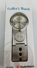 Radio Shack Golf Watch + Divert  CAT NO 63-5088 New