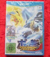 Pokemon Tekken incl. mapa amiibo Shadow Mewtwo, Nintendo WiiU juego, nuevo embalaje original