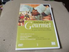 "DVD NEUF ""ITINERAIRE D'UN GOURMET, VOLUME 2"" recettes Thierry Marx, Christian Bo"