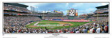Atlanta Braves OPENING DAY AT TURNER FIELD Panoramic Poster Print by Rob Arra