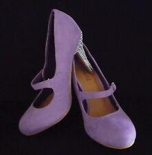 Advertise zapatos con tacones de Diamantes de Imitación & Perla Talla 6