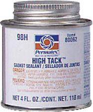 PERMATEX HIGH TACK GASKET SEALANT BRUSH TOP 4OZ 80062 - 59-9189