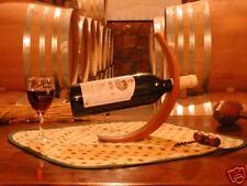 LOT x5 SUPPORT BOUTEILLE VIN EN BOIS cadeau gastronomie décoration table maison