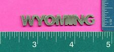 12 wholesale lead free pewter wyoming flats Aa34