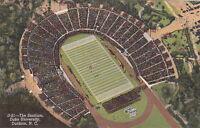 Postcard The Stadium Duke University Durham NC