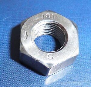 Mutter Feingewinde Linksgewinde M10x1 Stahl DIN 934-8 links