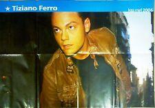 Q27 Poster Tiziano Ferro e sul retro Lindsay Lohan 2006