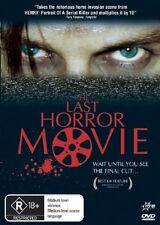 The Last Horror Movie DVD, 2006 British colt film
