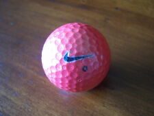 LOGO GOLF BALL-RED NIKE MOJO KARMA BALL.      MINT CONDITION