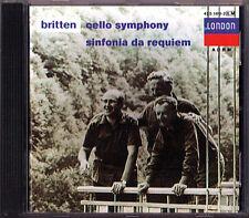 Rostropovich: Britten Cello Symphony Requiem Fischer-Dieskau CD Rostropowitsch