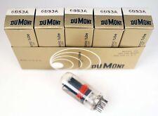 5 NOS Dumont 6BS3A / 6AY3B Audio Radio Vacuum Tubes NIB
