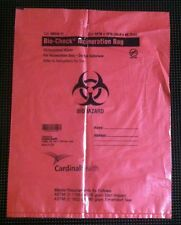 Cardinal Health 63610 Red Biohazard Incineration Bag Liners 4 Gal. Case of 200