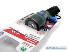 TORCIA Luce PORTATILE JOLLYLine ANTIURTO 2 LED Impermeabile 11h autonomia